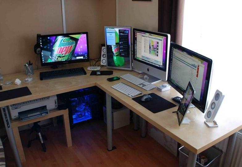 Contoh Meja Kerja Kantor Minimalis