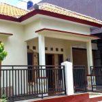 Contoh Teras Rumah Mewah Satu Lantai
