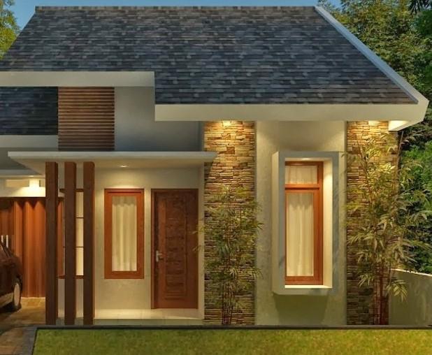 Contoh Teras Rumah Minimalis Type 36 Terbaru