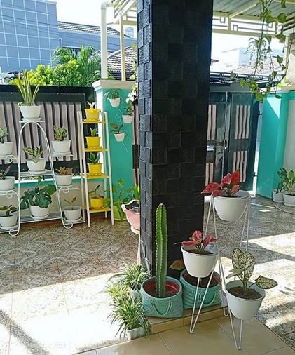 Contoh Tiang Teras Rumah Mewah
