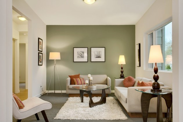 Contoh Warna Cat Ruang Tamu Sempit