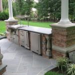 Dapur Minimalis Ada Taman
