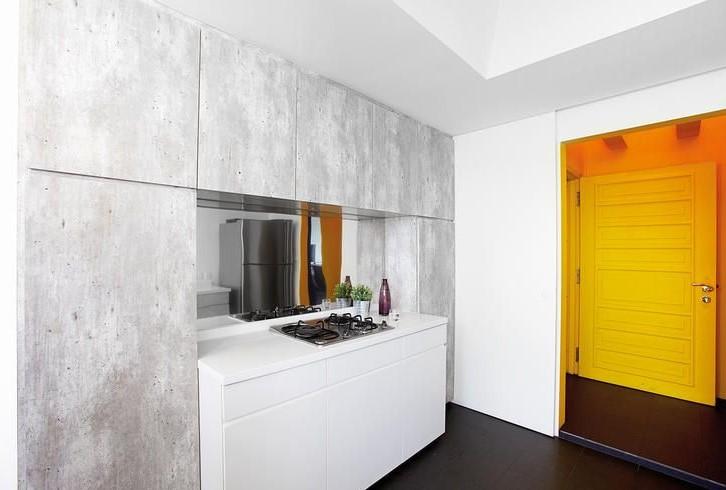 Dapur Minimalis Granit