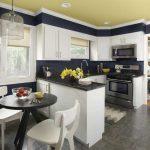 Dapur Minimalis Modern Kombinasi Ruang Makan