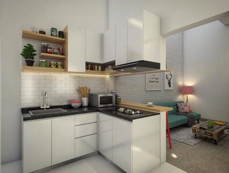 Dapur Minimalis Modern Yang Bersih dan Rapi
