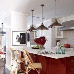Dapur Minimalis Nuansa Merah