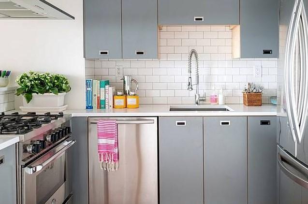 Dapur Minimalis Ukuran 2x2 Desain Kontemporer