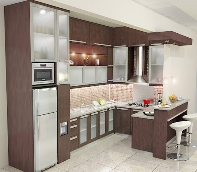 Dapur Minimalis Ukuran 2x2 M