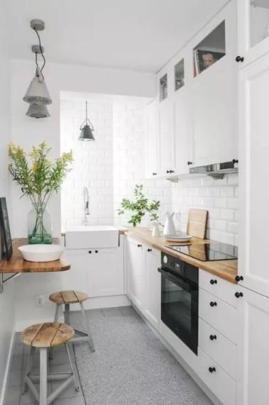 Dapur Mungil Dan Sederhana