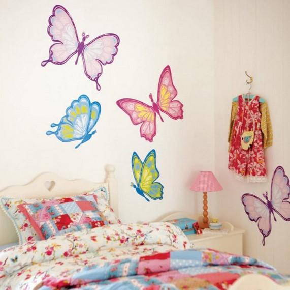 Dekorasi Kamar Anak Dengan Origami