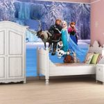 Dekorasi Kamar Anak Frozen