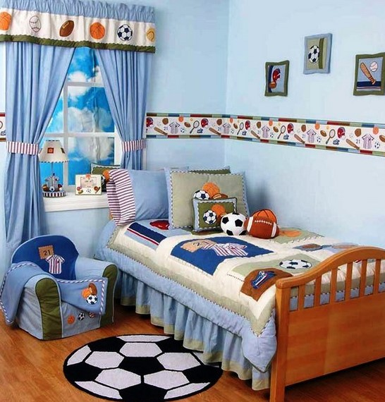 Dekorasi Kamar Anak Sempit