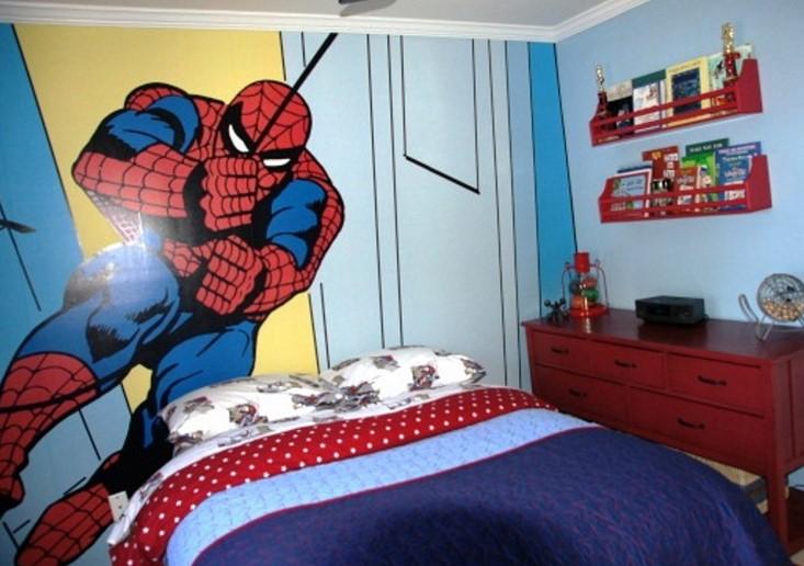 Dekorasi Kamar Anak Spiderman