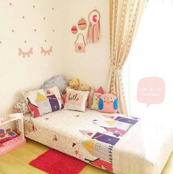 Luar Biasa Dekorasi Kamar Tidur 3x3 Kasur Lantai Beauty Glamorous