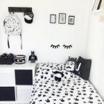 Dekorasi Kamar Minimalis Hitam Putih