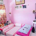 Dekorasi Kamar Minimalis Pink