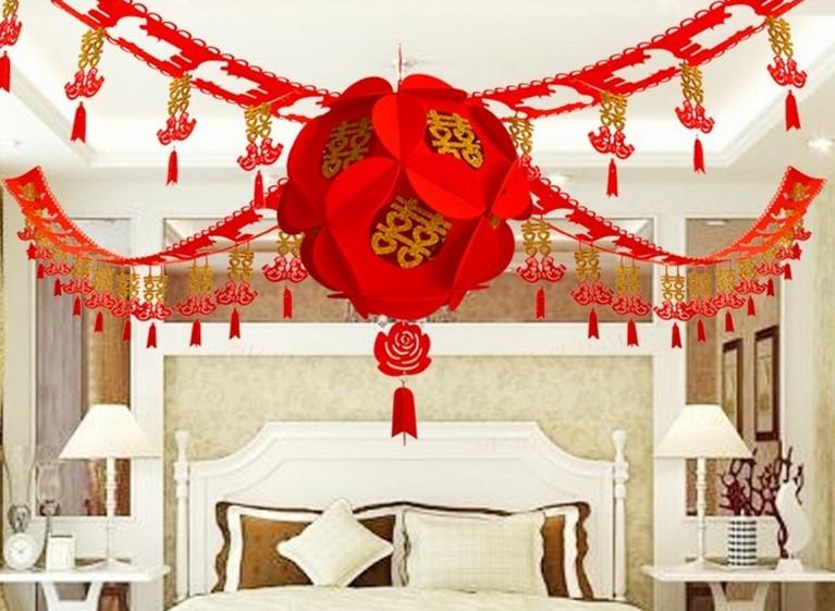 Dekorasi Kamar Pengantin Adat Cina