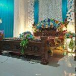 Dekorasi Kamar Pengantin Dengan Bunga