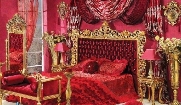 Dekorasi Kamar Pengantin Nuansa Merah
