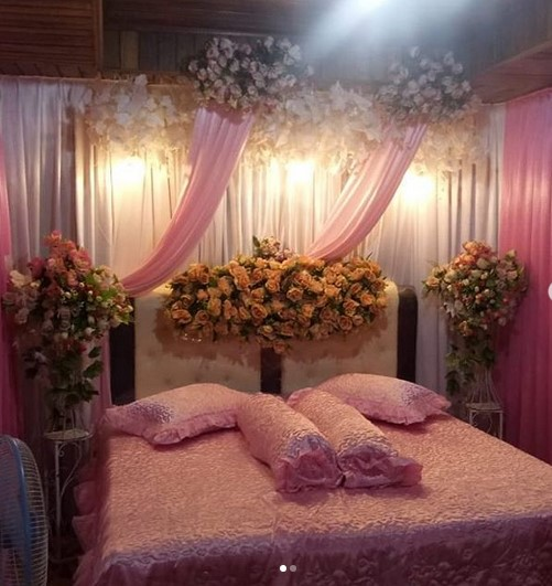 Dekorasi Kamar Pengantin Romantis
