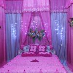 Dekorasi Kamar Pengantin Warna Pink
