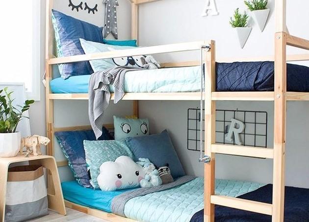Dekorasi Kamar Tidur Bertingkat
