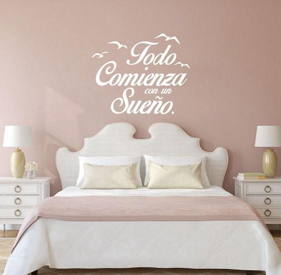 Dekorasi Kamar Tidur Dengan Quotes