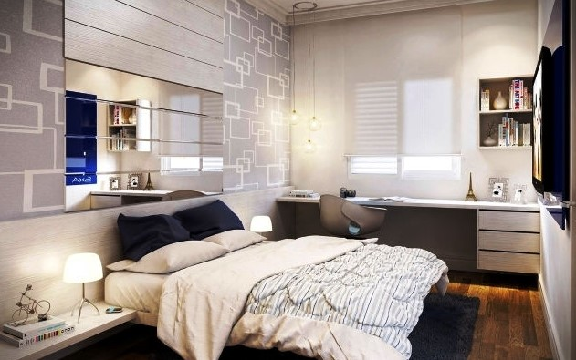 Dekorasi Kamar Tidur Minimalis Modern