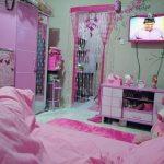 Dekorasi Kamar Tidur Nuansa Pink