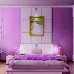 Dekorasi Kamar Tidur Nuansa Ungu