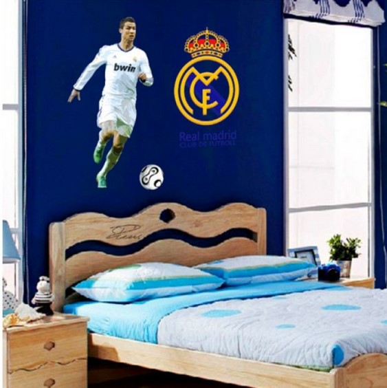 Dekorasi Kamar Tidur Real Madrid