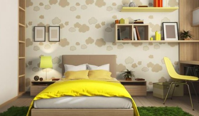 Dekorasi Kamar Tidur Sempit Minimalis