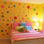 Dekorasi Kamar Tidur Warna Kuning