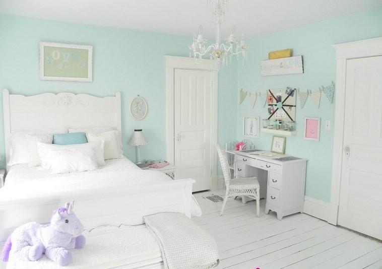 Dekorasi Kamar Tidur Warna Pastel
