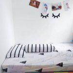 Dekorasi Kamar Tidur Warna Putih