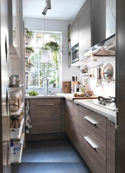 Denah Dapur Kecil Sederhana