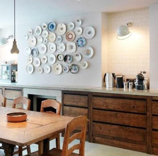 Desain Dapur Cantik Kayu Terbuka