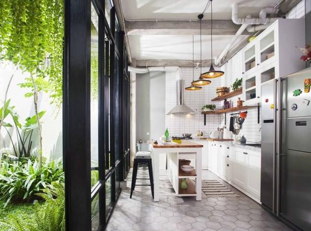 Desain Dapur Cantik Terbuka