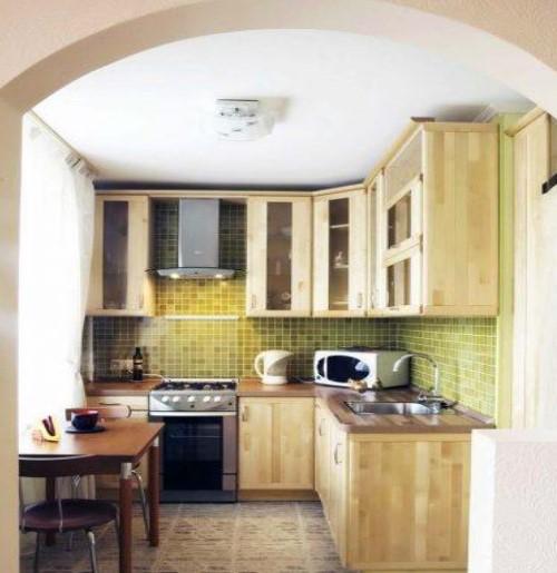Desain Dapur Cantik Untuk Rumah Mungil