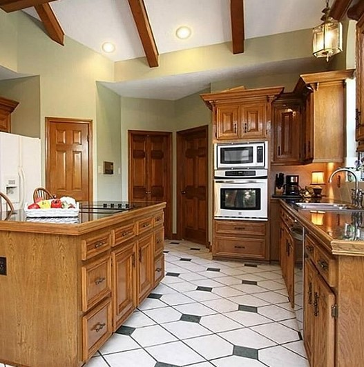 Desain Dapur Dengan Ruangan Yang Sempit