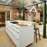 Desain Dapur Di Ruang Terbuka
