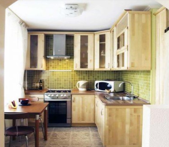 Desain Dapur Kecil Klasik