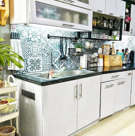 Desain Dapur Kecil Tapi Cantik