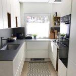 Desain Dapur Kecil U Minimalis