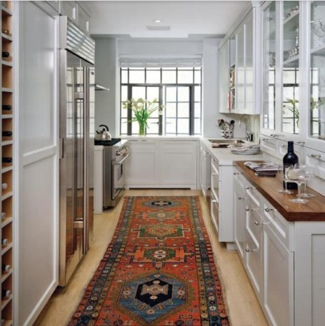 Desain Dapur Kecil U bernuansa Putih