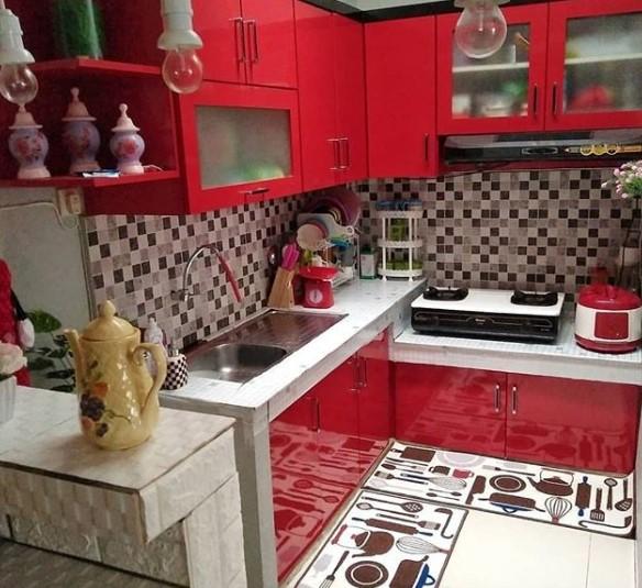 Desain Dapur Kering Sederhana