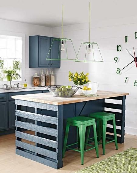 Desain Dapur Minimalis Full Color