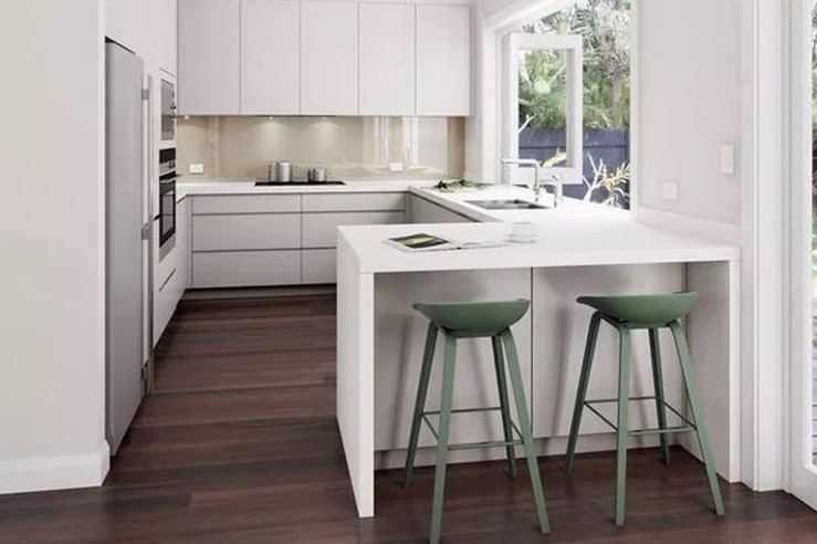 Desain Dapur Minimalis Ukuran 2x2 Terbuka