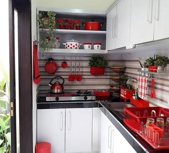 Desain Dapur Sederhana Alumunium