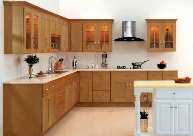 Desain Dapur Sederhana Dari Kayu